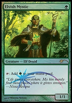 Magic the Gathering Promotional Single Elvish Mystic FOIL - NEAR MINT (NM)