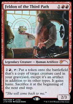 Magic the Gathering Promo Single Feldon of the Third Path FOIL - NEAR MINT (NM)