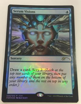 Magic the Gathering Promo Single Serum Visions FOIL (FNM) - NEAR MINT (NM)