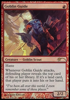 Magic the Gathering Promotional Single Goblin Guide (Grand Prix FOIL) - SLIGHTLY PLAYED