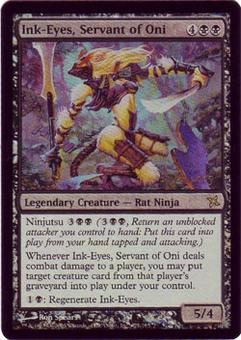 Magic the Gathering Prerelease Single Ink-Eyes, Servant of Oni FOIL - NEAR MINT (NM)