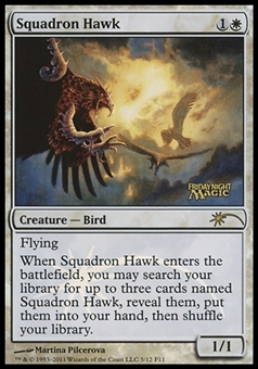 Magic the Gathering Promotional Single Squadron Hawk (FNM) - NEAR MINT (NM)