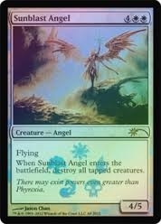 Magic the Gathering Promotional Single Sunblast Angel - NEAR MINT (NM)