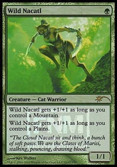 Magic the Gathering Promotional Single Wild Nacatl FOIL - NEAR MINT (NM)