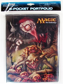 Ultra Pro Magic the Gathering Red Cap 9-Pocket Portfolio (10 Pages)