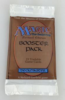 Magic the Gathering 3rd Edition (Revised) Booster Pack - Sealed Unsearched