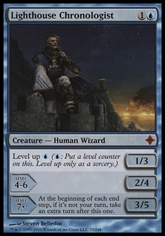 Magic the Gathering Rise of Eldrazi Single Lighthouse Chronologist - SLIGHT PLAY (SP)