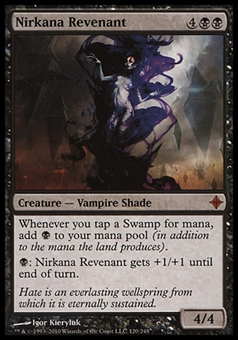 Magic the Gathering Rise of Eldrazi Single Nirkana Revenant - MODERATE PLAY (MP)