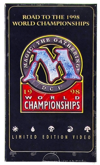 Magic the Gathering World Championship Limited Edition Video (1998)