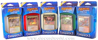 Magic the Gathering Return to Ravnica Intro Pack Set of 5