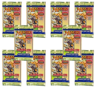 Magic the Gathering Starter 2000 Sampler Pack (Lot of 10)