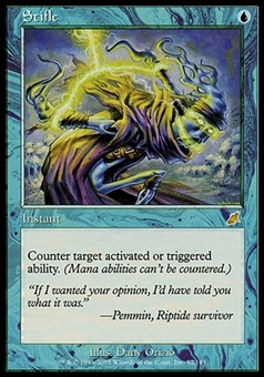 Magic the Gathering Scourge Single Stifle - MODERATE PLAY (MP)