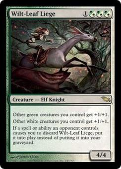 Magic the Gathering Shadowmoor Single Wilt-Leaf Liege - NEAR MINT (NM)