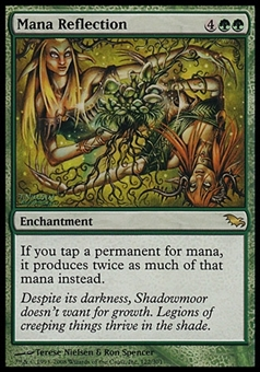 Magic the Gathering Shadowmoor Single Mana Reflection - SLIGHT PLAY (SP)