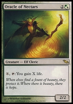 Magic the Gathering Shadowmoor Single Oracle of Nectars - NEAR MINT (NM)