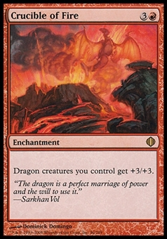 Magic the Gathering Shards of Alara Single Crucible of Fire - SLIGHT PLAY (SP)