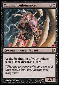 Magic the Gathering Shards of Alara Single Cunning Lethemancer FOIL - NEAR MINT (NM)