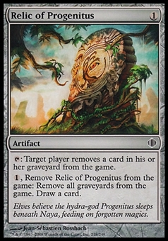 Magic the Gathering Shards of Alara Single Relic of Progenitus FOIL - NEAR MINT (NM)