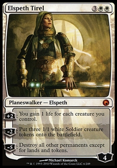 Magic the Gathering Scars of Mirrodin Single Elspeth Tirel - NEAR MINT (NM)