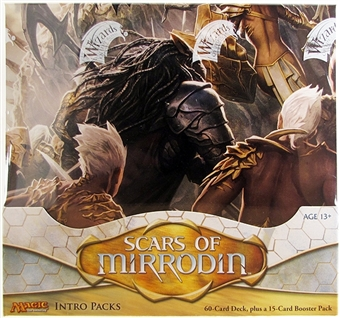 Magic the Gathering Scars of Mirrodin Intro Pack Box