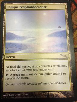 Magic the Gathering SPANISH Mirrodin Single Glimmervoid - SLIGHT PLAY (SP)