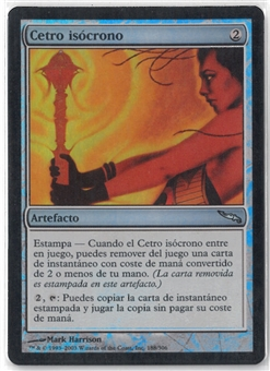 Magic the Gathering Mirrodin SPANISH Single Isochron Scepter FOIL - NEAR MINT (NM)