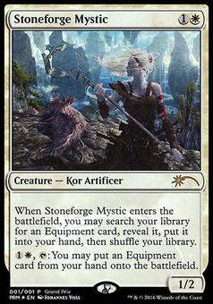 Magic the Gathering Promo Single Stoneforge Mystic FOIL - NEAR MINT (NM)