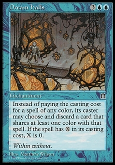 Magic the Gathering Stronghold JAPANESE Single Dream Halls - NEAR MINT (NM)