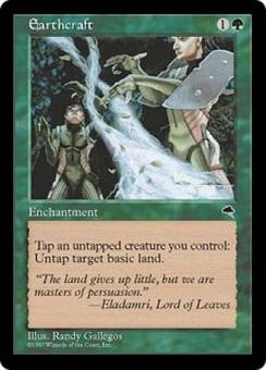 Magic the Gathering Tempest Single Earthcraft - SLIGHT PLAY (SP)