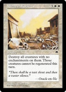 Magic the Gathering Tempest Single Winds of Rath - MODERATELY PLAYED (MP)