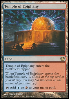 Magic the Gathering Journey into Nyx PLAYSET Temple of Epiphany X4 - NEAR MINT (NM)