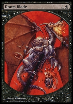 Magic the Gathering Promotional Single Doom Blade (Player Rewards) - NEAR MINT (NM)