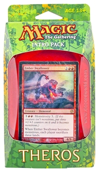 Magic the Gathering Theros Intro Pack - Blazing Beast of Myth