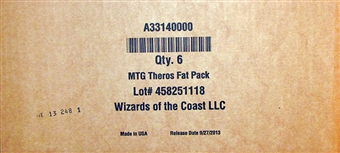 Magic the Gathering Theros Fat Pack 6-Box Case