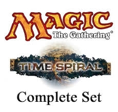 Magic the Gathering Time Spiral Complete Set (With Timeshifted) - NEAR MINT (NM)