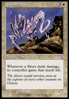 Magic the Gathering Time Spiral Single Essence Sliver FOIL - NEAR MINT (NM)