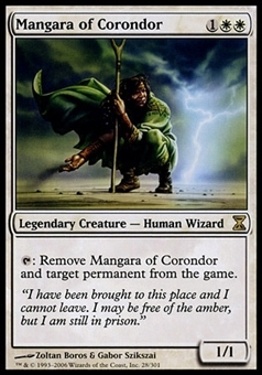Magic the Gathering Time Spiral Single Mangara of Corondor FOIL - SLIGHT PLAY (SP)