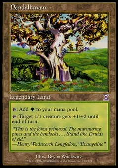 Magic the Gathering Time Spiral Single Pendelhaven FOIL - MODERATE PLAY (MP)