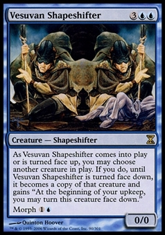 Magic the Gathering Planar Chaos Single Vesuvan Shapeshifter FOIL - SLIGHT PLAY (SP)