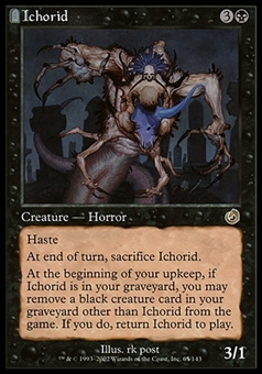 Magic the Gathering Torment Single Ichorid - MODERATE PLAY (MP)