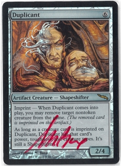 Magic the Gathering Mirrodin Single Duplicant FOIL (Artist Signed) - NEAR MINT (NM)