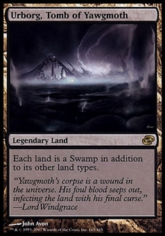 Magic the Gathering Planar Chaos Single Urborg, Tomb of Yawgmoth - MODERATE PLAY