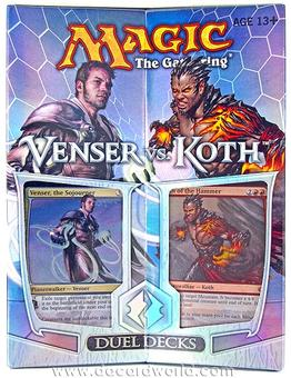 Magic the Gathering Venser Vs. Koth Duel Deck