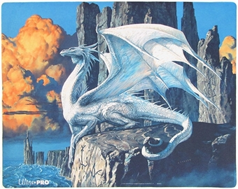 Ultra Pro Magic the Gathering Ciruelo White Dragon Playmat