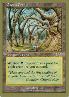 Magic the Gathering World Champs Single Gaea's Cradle - SLIGHT PLAY (SP)