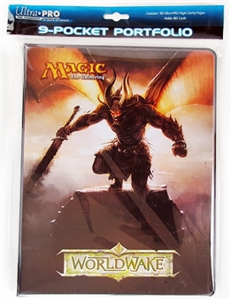 Ultra Pro Magic the Gathering Worldwake 9-Pocket Portfolio (10 Pages)
