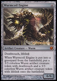 Magic the Gathering Promotional Single Wurmcoil Engine (Prerelease FOIL) - NEAR MINT (NM)
