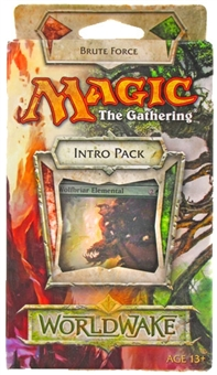 Magic the Gathering Worldwake Intro Pack - Brute Force