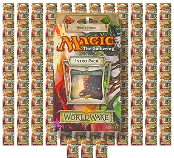 Magic the Gathering Worldwake Intro Pack - Brute Force (Lot of 100)