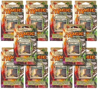 Magic the Gathering Worldwake Intro Pack - Brute Force (Lot of 10)